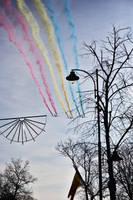 Tricolor Airplanes by nicubunu