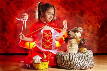 Little Red Riding Hood by nicubunu