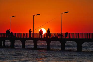 Fishing for the Sun by nicubunu