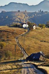 Roadway to fall by nicubunu