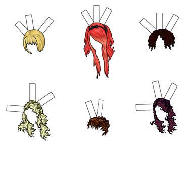 Wigs by rockafellow