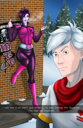 Humanized Undertale Holiday [Private Commission] by KitsuneZorra