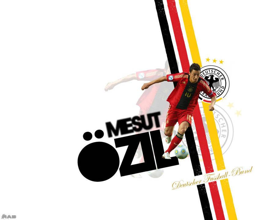 Mesut Ozil Wallpaper By BUDgraphD On DeviantArt