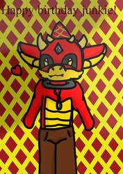 Its the dragon bois birthday present by Tiglillychan