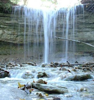 Cascades Waterfall 5 by kellylynn