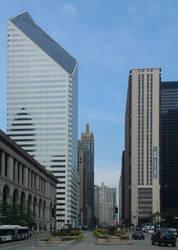 Michigan Avenue at Washington by kellylynn