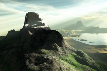 The Rock by kellylynn