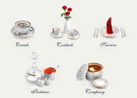 Icons 'Lomonosov Porcelain' by Cuberto-ru