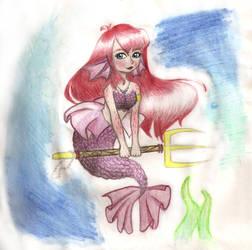 Mermaid by WhiteCraeon