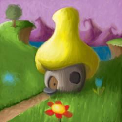 Mushroom house by ThomasKostiuk54