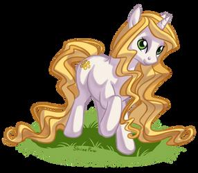 My OC pony by ShinePawPony