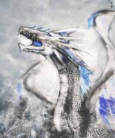 White Dragon (Procreate - iPad Pro) by lunaroveda