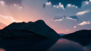 Sunrise (3d Landscape) by lunaroveda