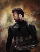Captain America - Infinity War (Digital Drawing) by lunaroveda