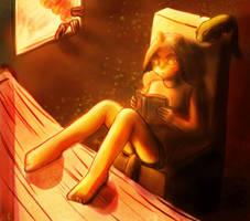 Araya at home by Kaimimi