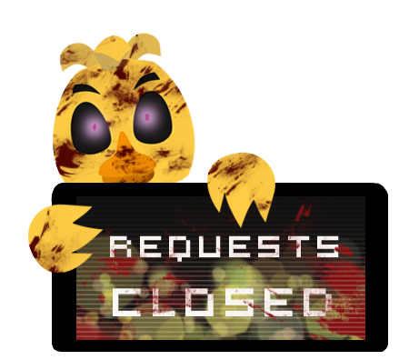 Chica Requests Closed Stamp by BlueBismuth