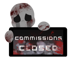 Dead Child Commissions CLOSED Stamp by BlueBismuth