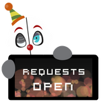 Ennard Requests OPEN Stamp by BlueBismuth
