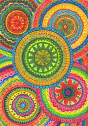 Mandala by Siriliya