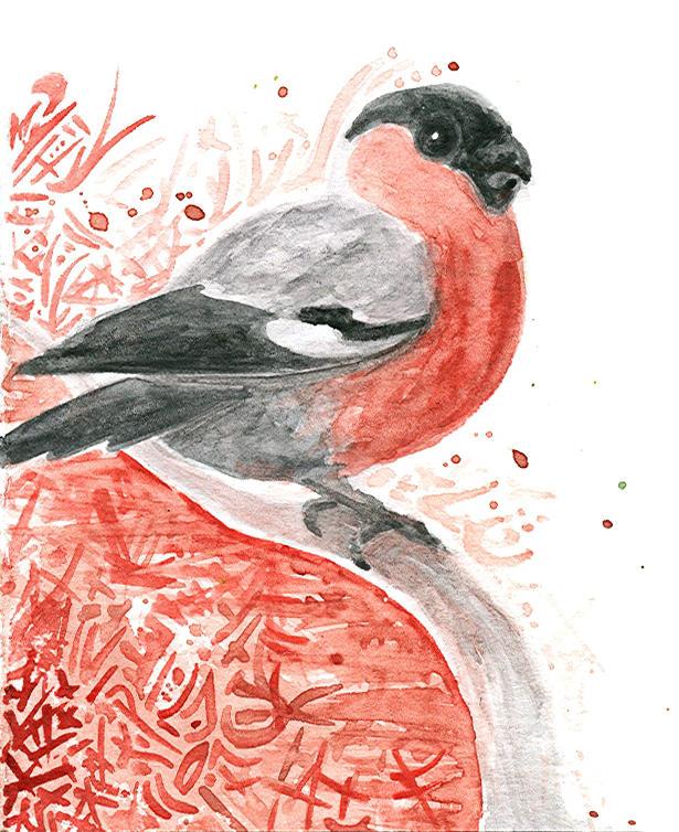 Bird by Siriliya