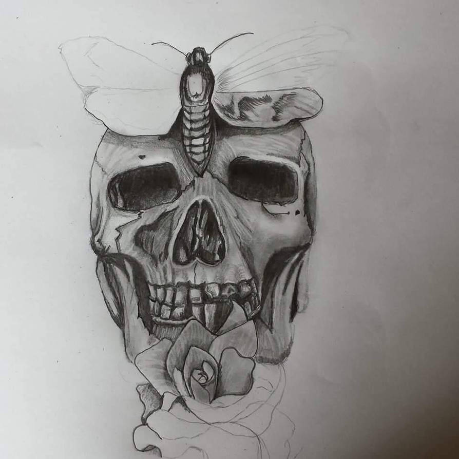 skull by yvonneX37