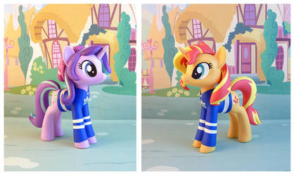 Glimmer and Shimmer by krowzivitch
