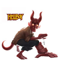 Hellboy by Studiomouette