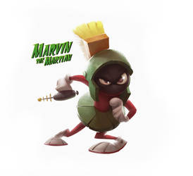 Marvin the Martian by Studiomouette