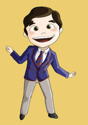 Blaine Anderson by AnaLuisita95