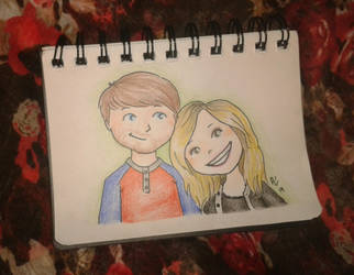 Ian and Melanie by AnaLuisita95
