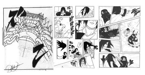 Itachi vs Orochimaru PREVIEW by free-energy03