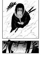 Itachi vs Orochimaru pg 12 by free-energy03