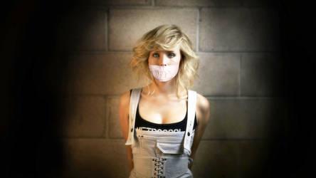 Kristen Bell Tape Gagged by SkepticalBear
