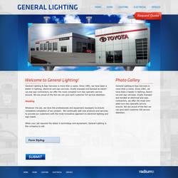 Lighting Website by ipholio