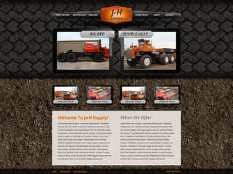 Trucking Website by ipholio