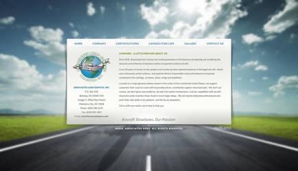 Aero Website by ipholio