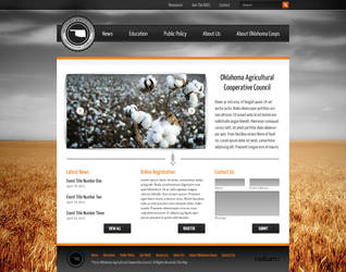 Agricultural Cooperative Website by ipholio
