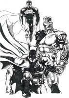 Les Anges Gardiens et Batman. by tonydax