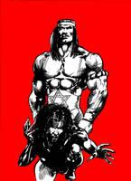 Samson and Vampira by tonydax