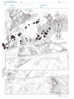 Planche Doom et les FF. by tonydax