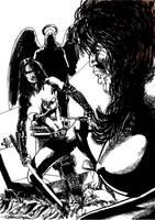 Lady Katana vs Vampira by tonydax