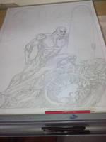 Silver Surfer by tonydax