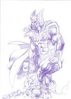 Taranis and Lady Epona gods of thunder! by tonydax