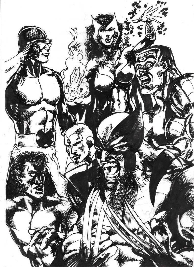 Marvel Comics by tonydax