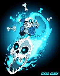 Sans The Skeleton Undertale by Edgar-Games