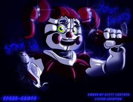 Stay in your Suit// SISTER LOCATION FNAF by Edgar-Games