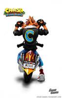 WOAH! //CRASH BANDICOOT MOTORCYCLE N.S.T by Edgar-Games