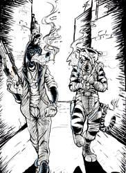 Goofy and Tigger by Edgar-Games