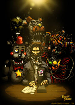 DOCUMENT RESULT// F.F.P.S FNAF6 by Edgar-Games
