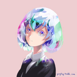 Diamond - Houseki no Kuni by Guryfrog